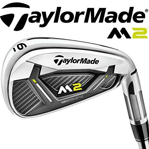 """NEW 2017"" TAYLORMADE M2 IRONS 4-PW REGULAR REAX 88 STEEL SHAFTS / 100% GENUINE"