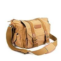 BESTEK® Avantage: Ce sac est un accessoire idéal pour mieux organiser votre équipement et votre appareil photo.Il a une cloison amovible, 2 à l'extérieure, compartiments à fermeture éclair avec 1 compartiment juste pour l'ipad. • Dispose d'une emplac...