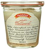 Heidehof Mettwurst im Weckglas, 6er Pack (6 x 200 g)