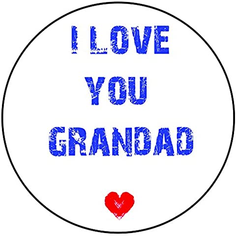 I Love You Grandad Cake Topper un