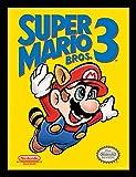 Nintendo Super Mario Affiche encadrée 30x 40cm -