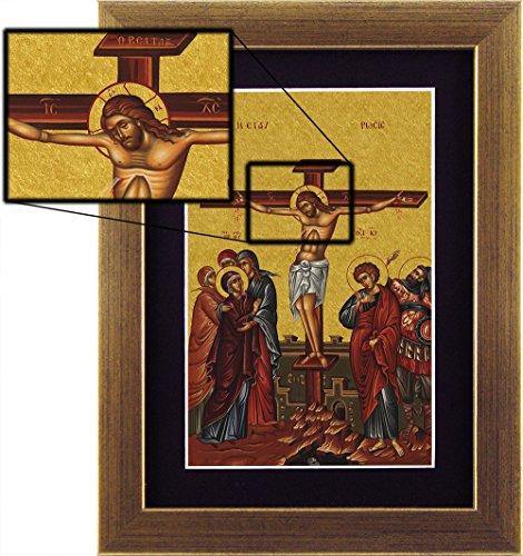 Icona-Crocifissione, 13x18cm
