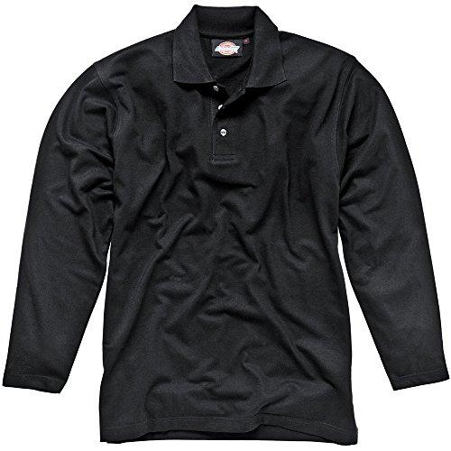 Preisvergleich Produktbild Dickies Langärmeliges Polo-Shirt schwarz BK M,  SH21100