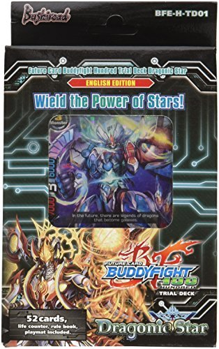 Future Card Buddyfight trial Deck H-01 Dragonic Star Card Game by Future  Card Buddy Fight