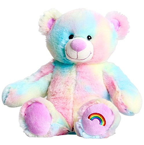 Pastel Rainbow Teddy Bear 16 (40cm) Stuff Your Own Bear Kit by Stuff a bear