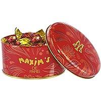 Maxim's de paris Mini Boîte Ovale Rouge Noisettes Chocolat Lait 40 g -