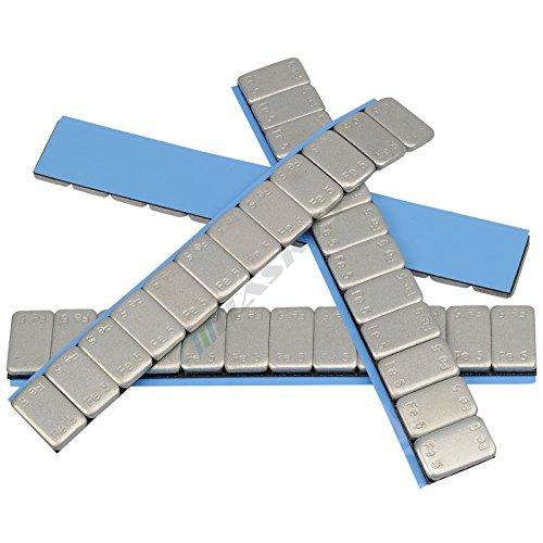 50-Catenella-Pesi-Equilibratura-12x5g-Pesi-Adesivi-Pesi-Di-Equilibrio-Striscia-Adesiva-60g-5g