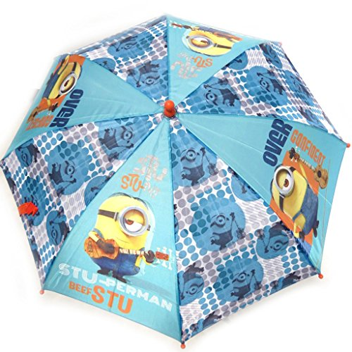 Niño 'Minions'turquesa paraguas 63 cm.