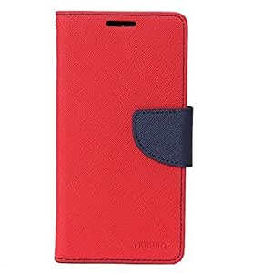 MV FLIP COVER FOR Microsoft Lumia 540 - (Red, Blue)