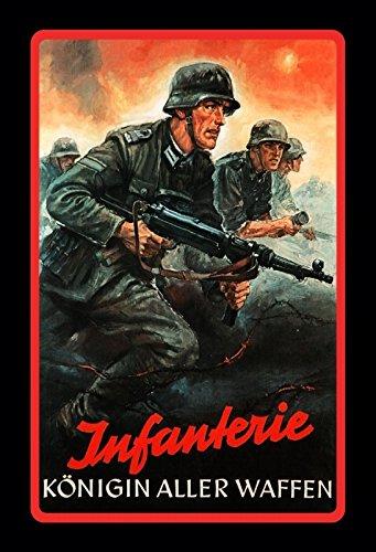 Schatzmix Infanterie Königin Aller Waffen wehrmacht Bundeswehr Soldat blechschild