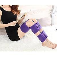 DZW O/X Bein Korrektur Gürtel, Atmungsaktives Material, Tag Und Nacht Korrektur Mit Leggings Straps Bein, Lila