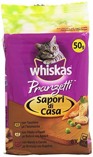 Whiskas - Pranzetti, Saporti Di Casa - 300 G