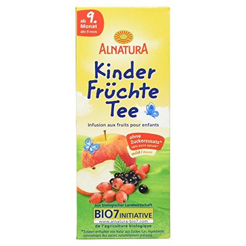 Alnatura Bio Kinder Früchte Tee ab 9. Monat, 20 Beutel, 50 g