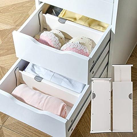 Schublade ausziehbar Unterwäsche Aufbewahrung Trennwand kunststoffanfertigung Layered-Teller Partition
