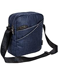 Killer Adelaide Stylish Travel Sling Bag - Navy Blue Water Resistance Polyester Bag With Multiple Prockets And...