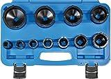 SW-Stahl Spezial-Einsatz Set für Nutmuttern, 22-75 mm, 11-teilig, 10334L