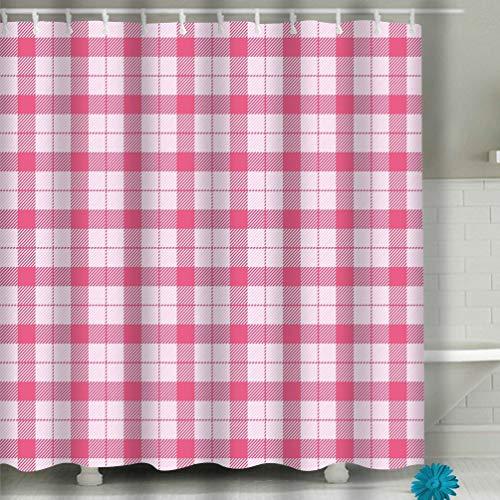 Xunulyn House Decor Shower Curtain Sets with Hooks 60