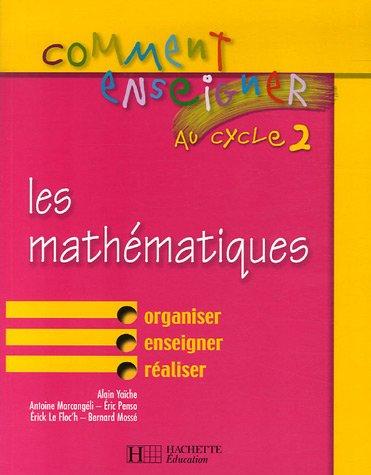 Les mathématiques cycle 2
