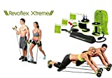 Revoflex AB Exerciser, the ideal machine you need to work out for abs with its simple yet effective exercise routines. With a bidirectional technology and five minutes a day you can strengthen your body effortlessly and smoothly. Fully engages your b...