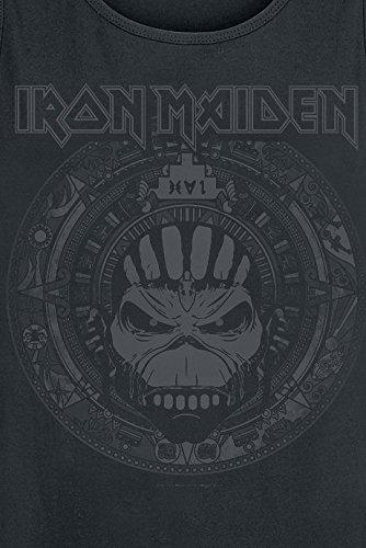 Iron Maiden Book Of Souls Skull Tank-Top schwarz Schwarz