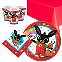 Bing Party Tableware Pack for 8