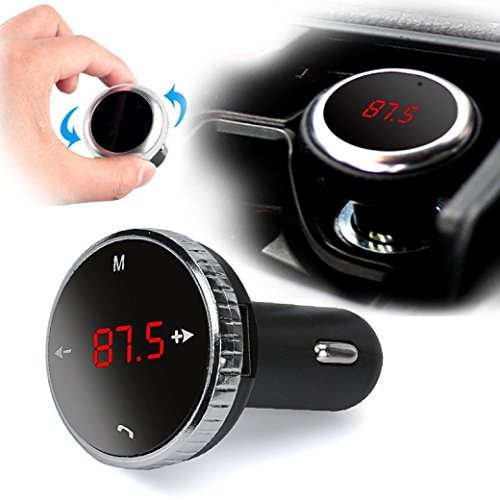Preisvergleich Produktbild Omiky® Mode 2017 Wireless Bluetooth LCD FM Transmitter Modulator Auto Kit MP3 Player SD mit Fernbedienung