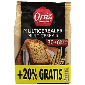 Ortiz Pan Multicereales 30...