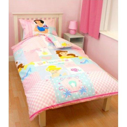 Disney Princess Character World Wishes Single Rotary Bettwäsche-Set (Disney Princess Möbel-set)