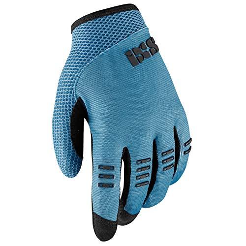 IXS BC-X 3.1 Fahrrad Handschuhe Enduro Freeride DH All Mountain Bike Cross Downhill Sport BMX FR, IX-GLO-5400, Farbe Ozeanblau, Größe XL