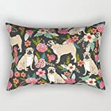 Artistdecor Throw Pillow Case Of Dogs 16 X 24 Inches / 40 By 60 Cm,best Fit For Kitchen,teens,her,teens Boys,play Room,b