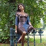 Gartentraum Bronze Gartenstatue aus Bronze - Adelina, Bronze