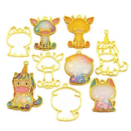 KunmniZ - Juego de 5 piezas con marco de metal para mascotas,...