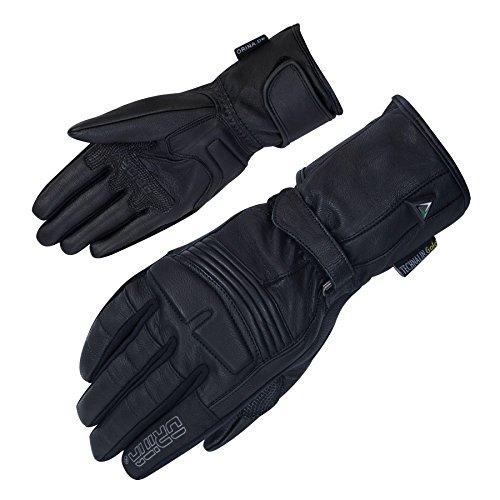 Damen Motorradhandschuhe Leder Sommer Motorrad Handschuhe elegant - 1a Passform (M)
