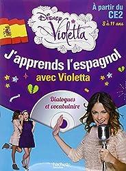 J'apprends l'espagnol avec Violetta (1CD audio)