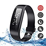 DBPOWER Fitness Tracker, Tracker Attività Orologio Fitness con Monitor Sonno e...