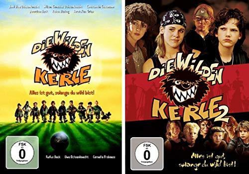 Die wilden Kerle - Kinofilm 1+2 im Set - Deutsche Originalware [2 DVDs]