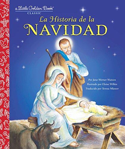 La Historia de la Navidad (Little Golden Book) por Jane Werner Watson