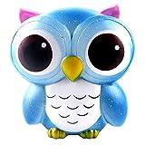 Zolimx Extrusion Spielzeug, 15cm Lovely Galaxy Owl Creme duftenden Squishy Langsam Steigende Squeeze Spielzeug Sammlung