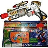 Lalli Sales Flash Gun With Laser Sound Music & Flashing Lights Gun Toy For Kids