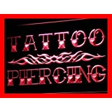 ADV PRO i559-r Tattoo Piercing Miami Ink Shop Neon Light Sign Barlicht Neonlicht Lichtwerbung