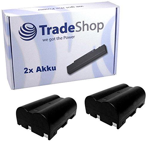2x Hochleistungs Kamera Li-Ion Akku für PENTAX K-10D K-20D K-100D K-110D KONICA MINOLTA a Sweet DIGITAL a-5 a-7 a5 a7 Digital DiMAGE A2 A-2 Dynax 5D 7D 5-D 7-D Maxxum 5D 7D DiMAGE A1 A2 A-1 A-2 Minolta Maxxum 7d