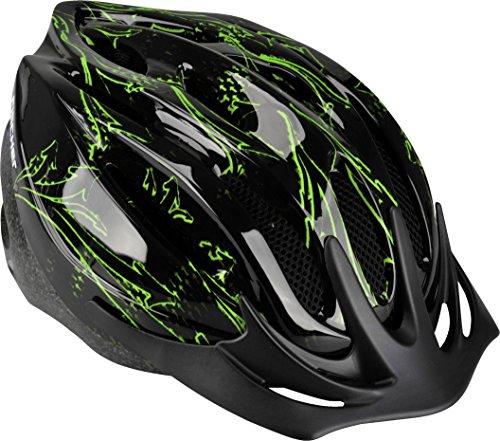 FISCHER Fahrradhelm Erwachsene, Radhelm, Cityhelm, verstellbarer Innenring, Polsterung, mit Beleuchtung