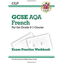 New GCSE French AQA Exam Practice Workbook - for the Grade 9-1 Course (includes Answers)