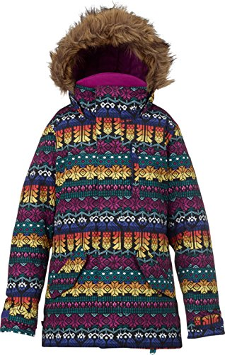 Burton Mädchen Aubrey Parka Jacket Snowboardjacke, Sangria, M