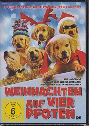 Preisvergleich Produktbild Weihnachten auf vier Pfoten - 3-Filme Box