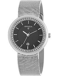 Orphelia Damen-Armbanduhr Imperiale Analog Quarz Edelstahl