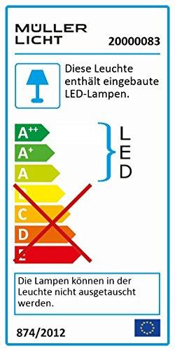 Müller-Licht Geeignet für Wohn- und Schlafzimmer
