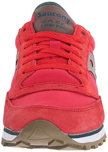 Sneakers donna Saucony Jazz Low Pro - Grey/Blue Red/Teal