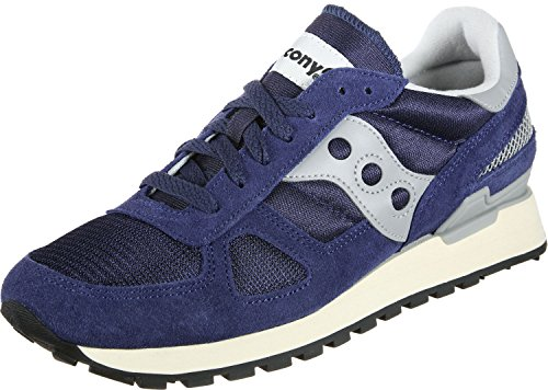 Saucony Shadow Original Vintage, Sneaker Unisex Adulto, Blu (Navy/White 3), 44 EU