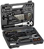 XLC Unisex- Erwachsene Werkzeugkoffer TO-S61, Schwarz, One Size